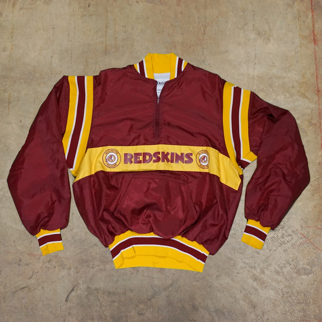Vintage Washington Redskins Pullover Windbreaker