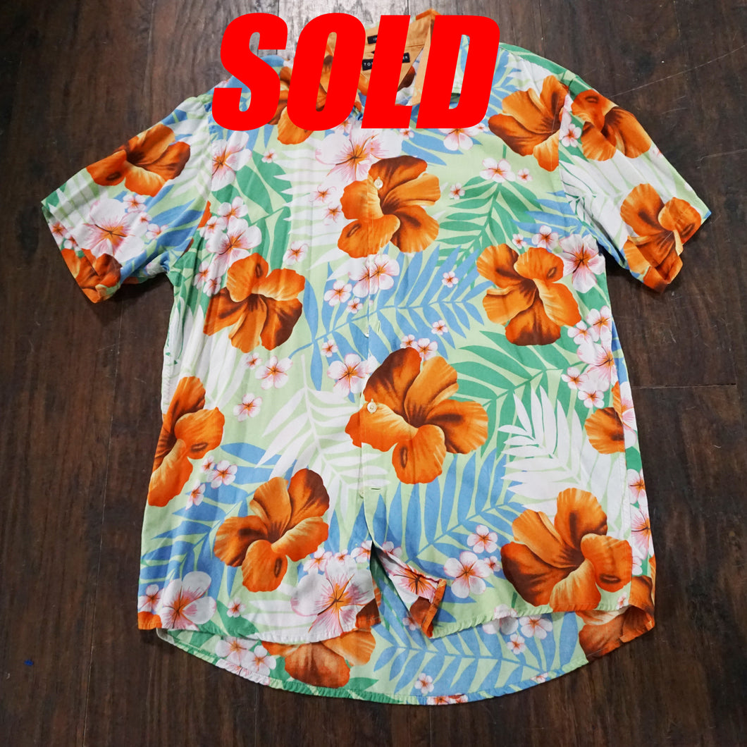 Tommy Hilfiger Hawaiian Button Up