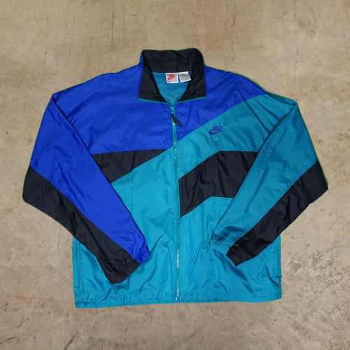 Vintage Nike 90s Colorblock Windbreaker