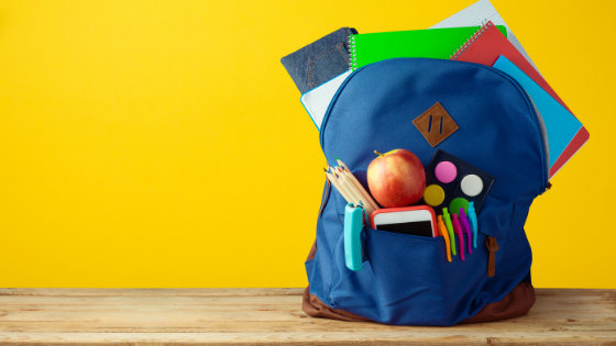 THE Secret to Organized School Backpacks All Year Long