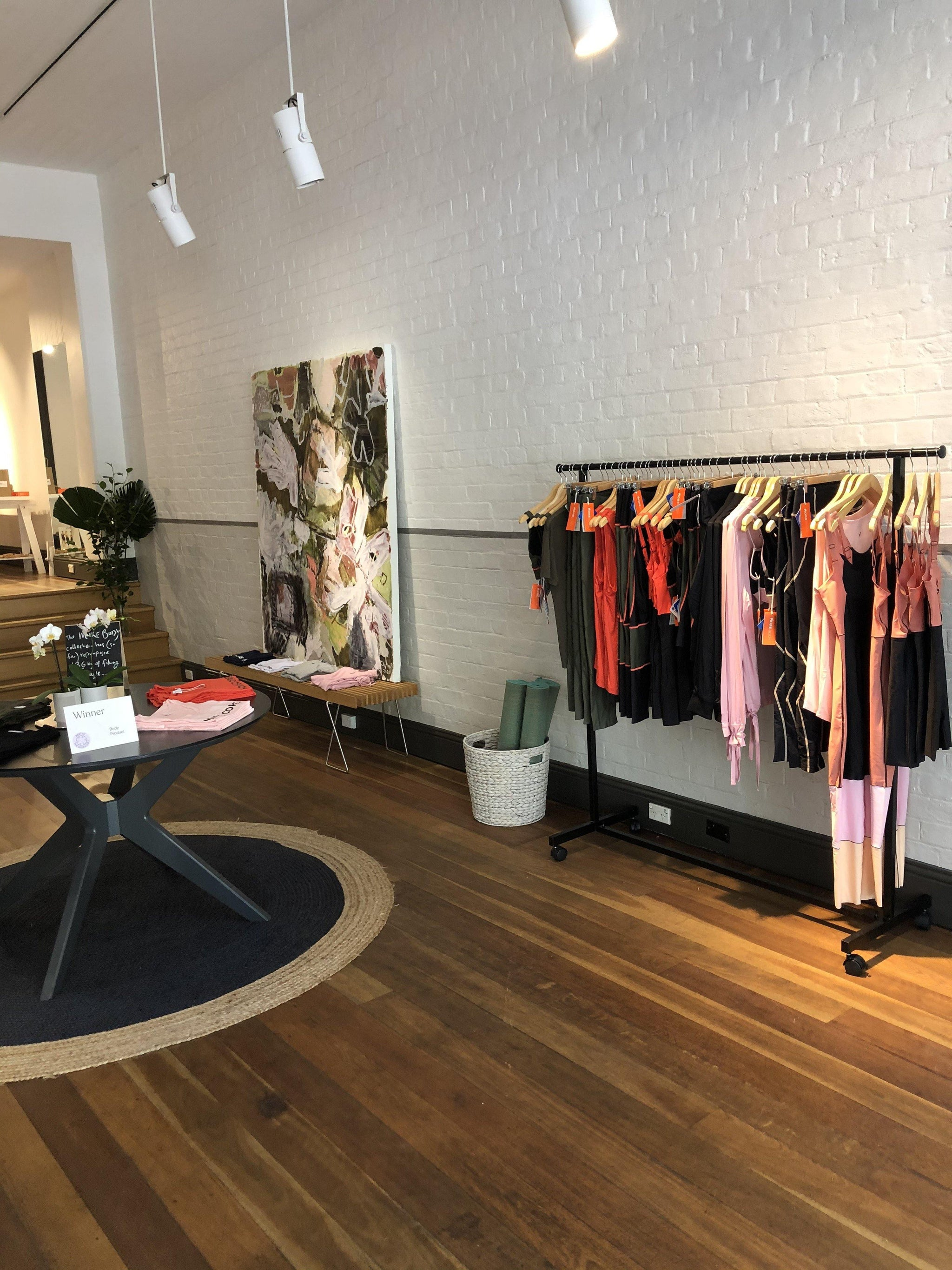 MORE BODY RE-OPENS FIRST POP-UP STORE AT THE ROCKS SYDNEY - More Body
