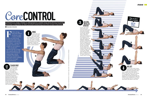 Fernwood Fitness Magazine MORE BODY Pilates Trainer, Melinda O'Rourke
