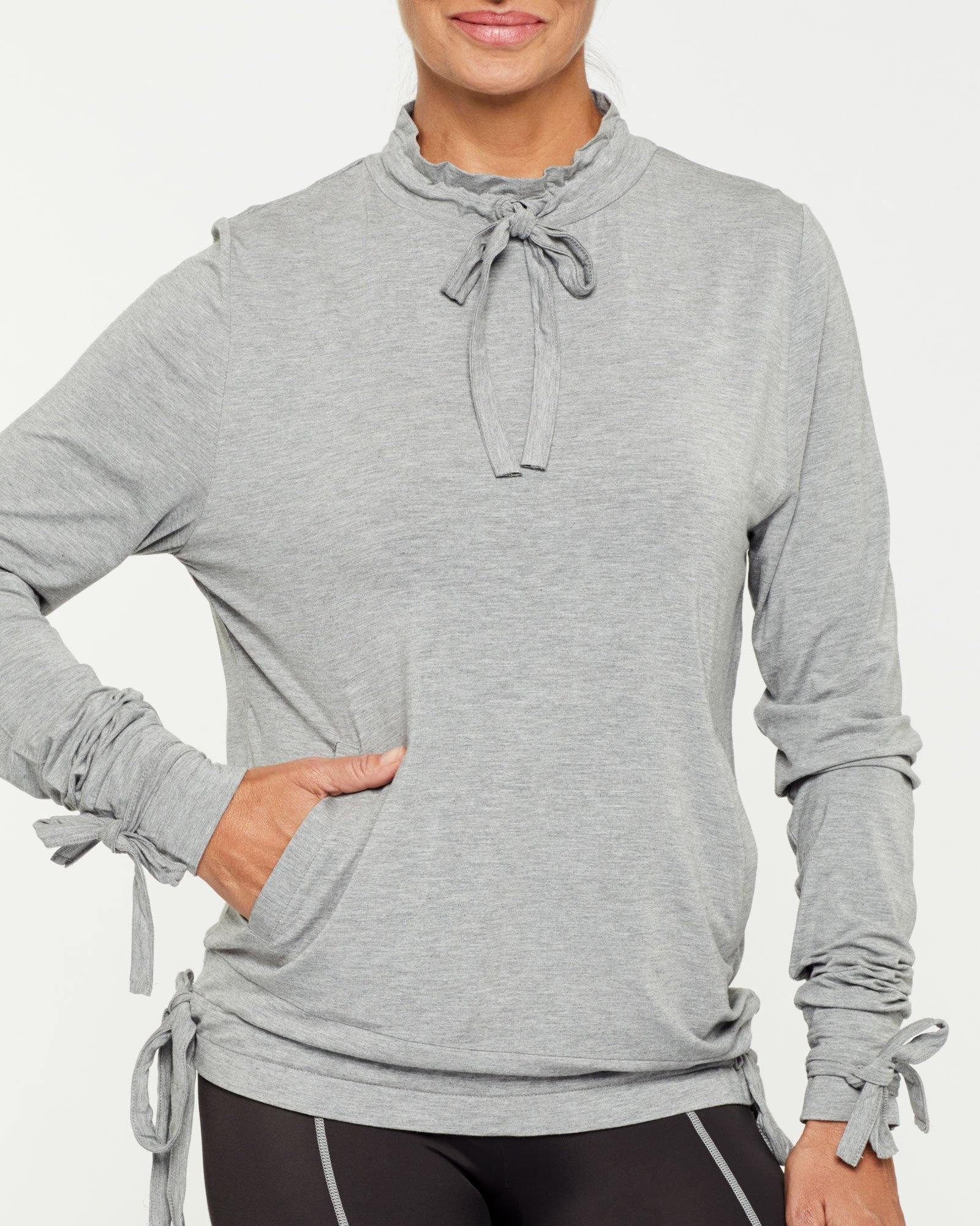 Steely Spinae Long Sleeve Top