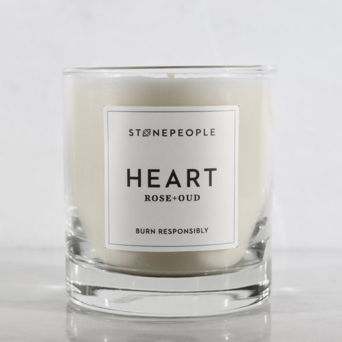 HEART: Rose + Oud Candle