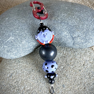 Shungite & Vampire Halloween Clip-on, Fun and Functional - Shungite Queen