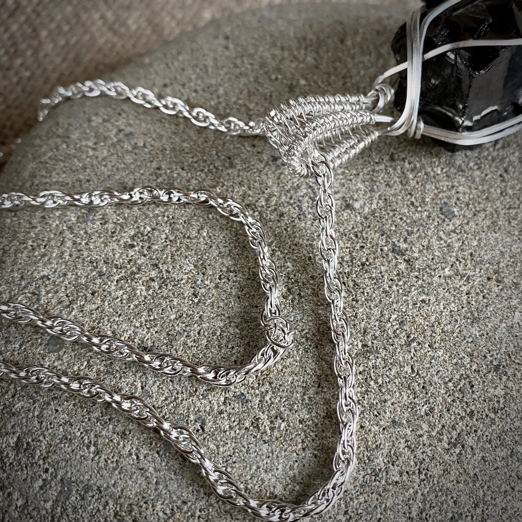 Sterling Silver Double Rope Chain w/Sterling Silver Mag-Lok Clasp