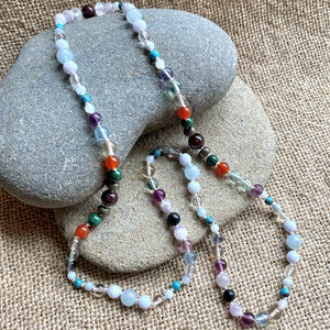 Immune Support Necklace, 13 Gemstones Flu, COVID-19 Resistance Recovery