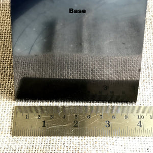 High Shungite Pyramid, 100mm Base (4 Inches Square), EMF Protection - A Real Stunner