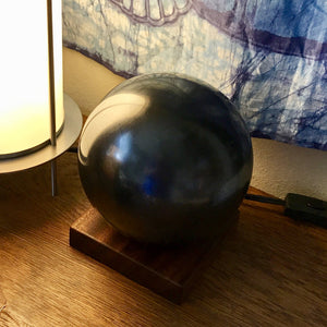 Shungite Sphere, Huge, 150mm/6 Inches, EMF Protection