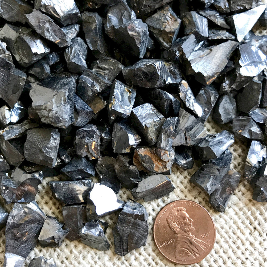 Elite Shungite Water Detoxification Stones - Shungite Queen