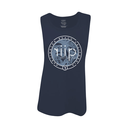 PARADISE WOMEN TANK TOP- NAVY