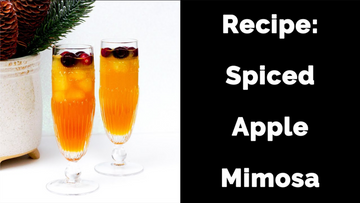 Recipe: Spiced Apple Mimosas
