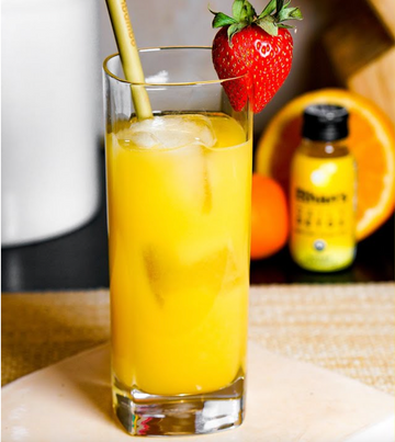 Ginger Pineapple Screwdriver
