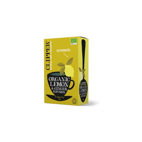 Clipper Lemon & Ginger Infusion EKO