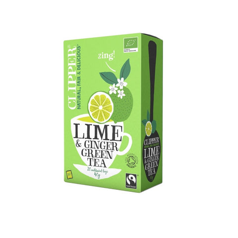 Clipper Green Lime & Ginger EKO