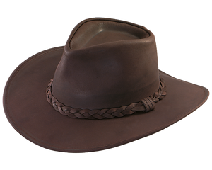 Dakota Leather Australian Hat