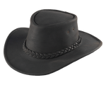 Henschel Western Leather Australian Hat