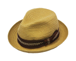 Henschel High Roller Summer Fedora Hat