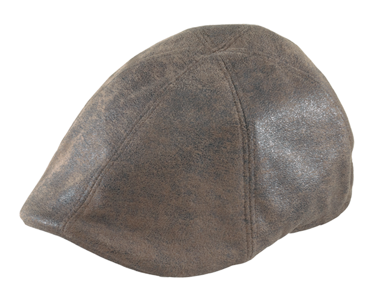 Henschel Distressed Leather Duckbill