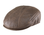 Henschel Premium Leather Driver Cap