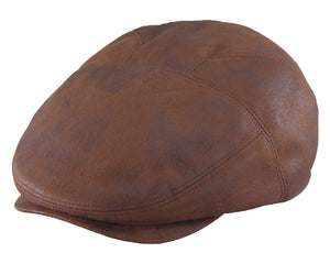 Henschel Leather Ivy Cap