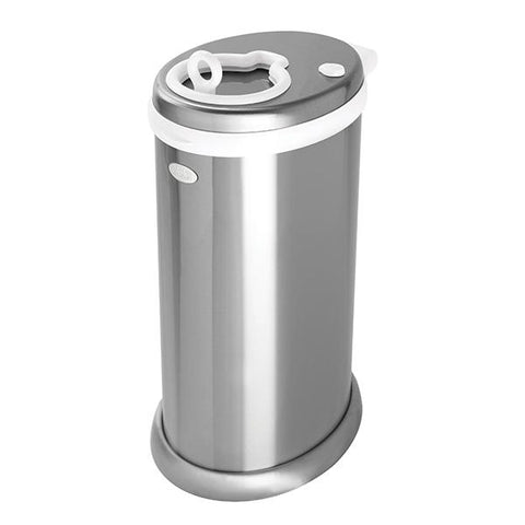 Ubbi Diaper Pail-Chrome