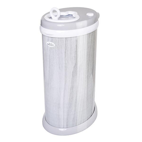 Ubbi Diaper Pail-Wood Grain