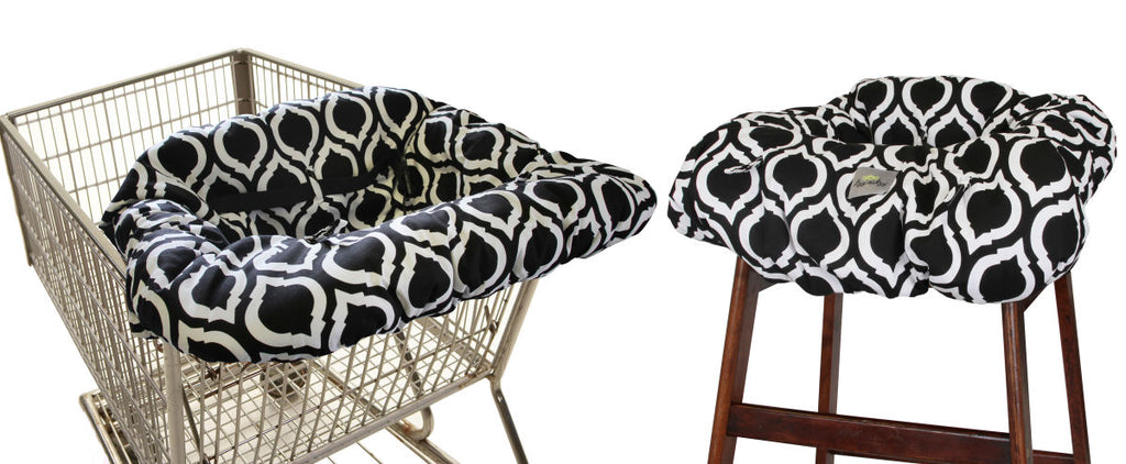 Itsy Ritzy Shopping Cart & Highchair Cover-Moroccan Nights