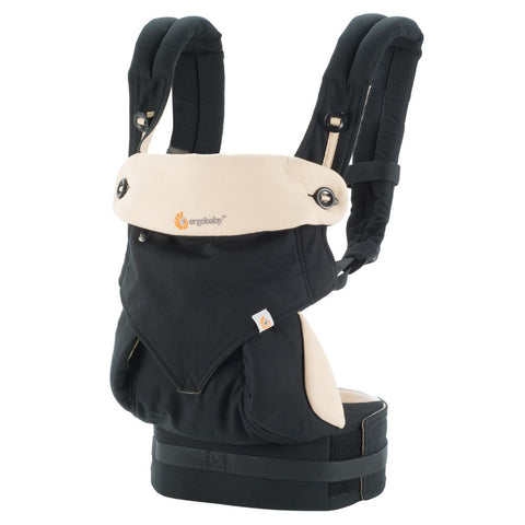 ErgoBaby 4 Position 360 Carrier-Black/Camel