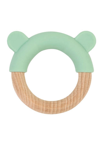 Saro Nature Little Ears Teether - Green