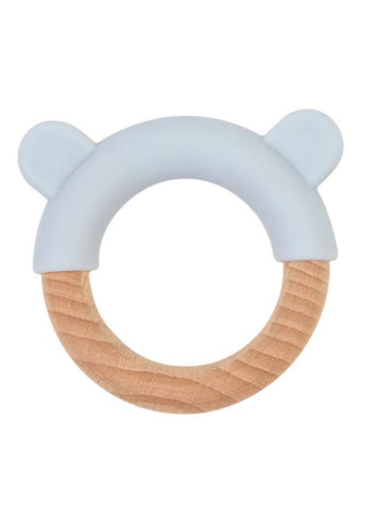 Saro Nature Little Ears Teether - Blue