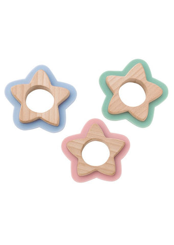 Saro Nature Star Teether - Blue