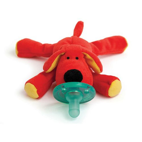 Wubbanub Pacifier-Red Dog