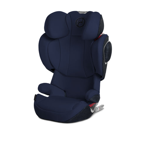 Cybex Solution Z-Fix Booster Car Seat - Midnight Blue