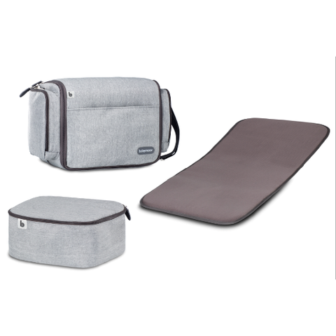 Babymoov Travelnest - Smokey Grey - Traveling Tikes