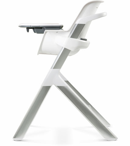 4moms High Chair - White/Grey - Traveling Tikes