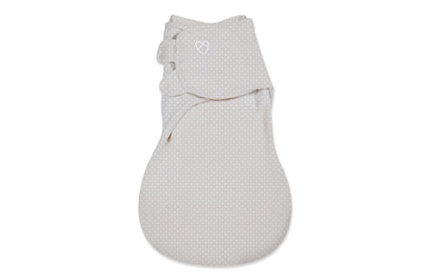 SwaddleMe WrapSack 1-PK - Tiny Grey Stars (SM)