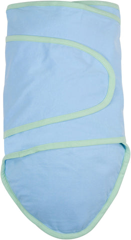 Miracle Blanket - Blue With Green Trim