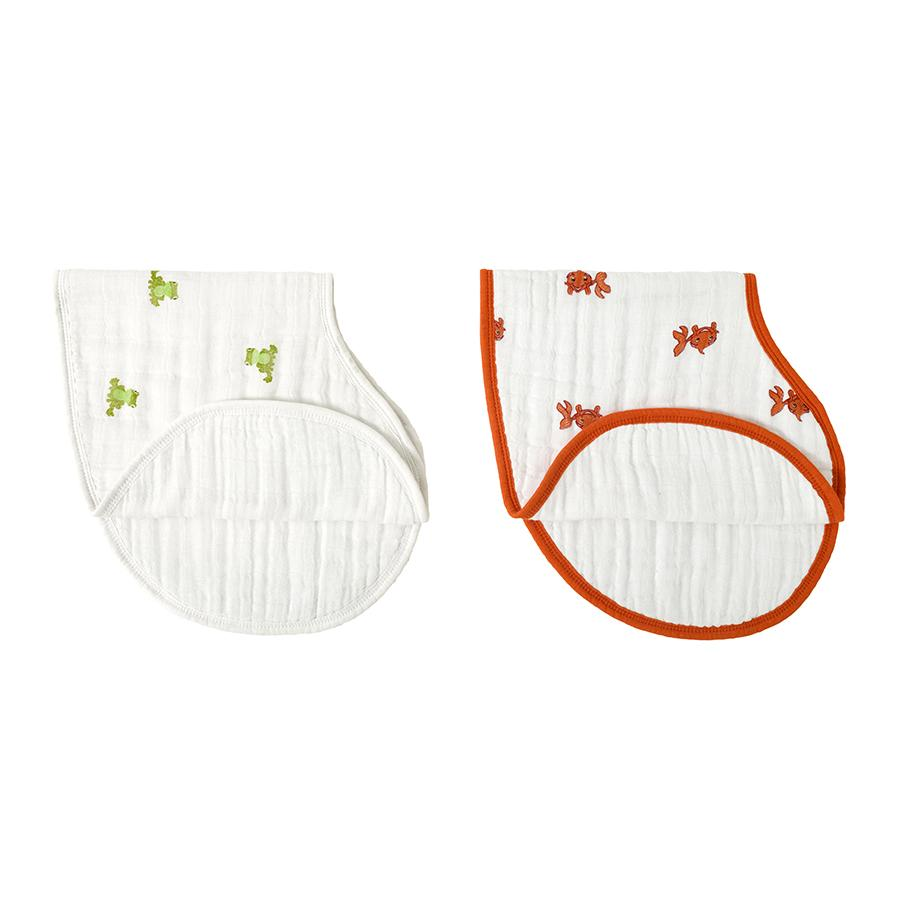 Aden and Anais mod about baby burpy bib - Traveling Tikes