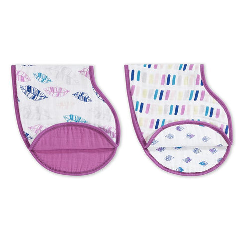 Aden and Anais wink burpy bib - Traveling Tikes