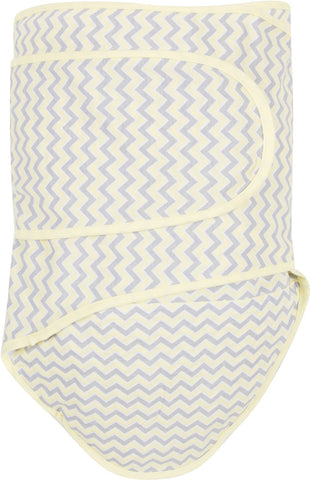Miracle Blanket - Chevrons with Yellow Trim