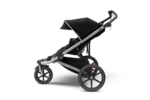 Thule 2021 Urban Glide 2 Double Jogging Stroller - Black On Black