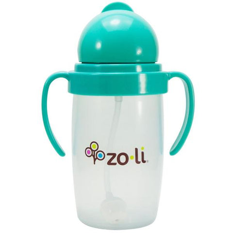 ZoLi BOT 10 oz. Straw Sippy Cup-Mint