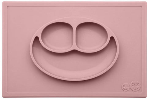 EZPZ Happy Mat Placemat & Plate - Blush