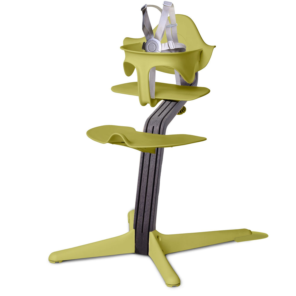 Nomi Highchair - Lime/Black Oak