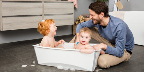 Stokke Flexi Bath Large - Transparent Blue
