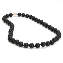 Chewbeads Jane Teething Necklace-Black