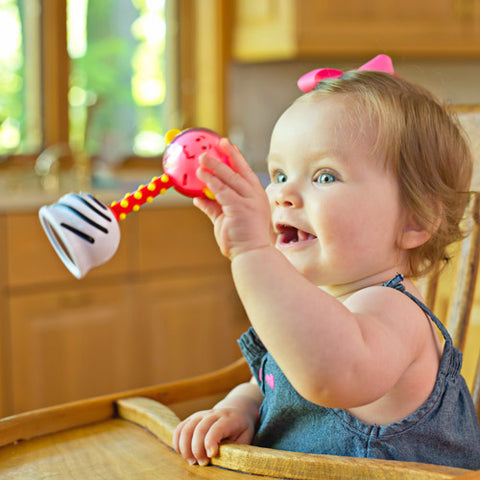 Smart Noggin NogginStik Developmental Light-up Rattle