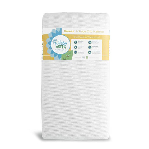 Lullaby Baby Breeze Air Breathable Crib Mattress 2-Stage