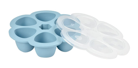 BEABA Multiportions™ 5oz Silicone Tray – Rain